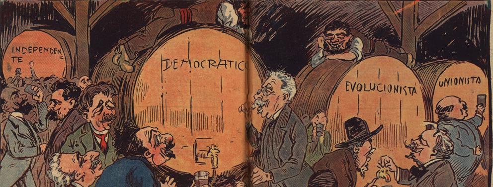 Resultado de imagem para caricaturas 1ª república