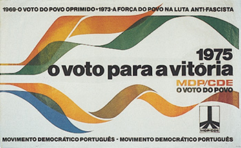 Cartaz do MDP-CDE