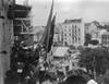 Proclamação da República da varanda do Palácio de S. Bento após aprovação pela Assembleia Nacional Constituinte de 1911
