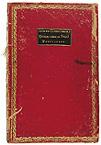 Capa do Livro de Actas das Cortes Constituintes de 1821