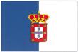 Bandeira adoptada pelos liberais constitucionalistas, usada até à implantação da República (1830-1910)