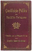 Capa do original da Constituição de 1911